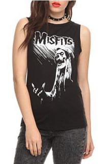 Misfits Fiend Slash Sleeveless Girls T Shirt 2XL