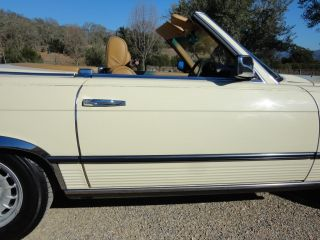 Original California 85 380SL 51 700 Miles Well Kept with Records Last Best Year