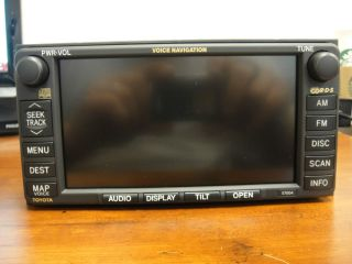 2004 2006 Toyota Tundra Sequoia Sienna GPS Navigation System E7004