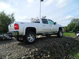 Chevrolet Diesel 4 Wheel Drive Leather Lifted 4x4 Crew Cab Chevy Rocky Ridge