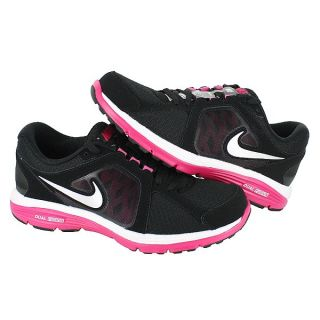 Nike Wmns Dual Fusion Run Black Fireberry Pink Womens US Size 8 UK 5 5