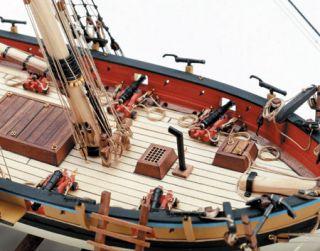 Model Shipways Armed Virginia Sloop Privateer Wood Kit