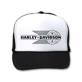 Harley Davidson Emblem Hat Knucklehead Panhead Custom Chopper Tank Engine Frame