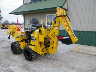 Vermeer LM42 Backhoe Boring Machine Ditch Witch Vibratory Cable Plow Trencher