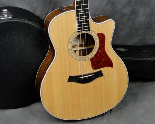 2011 Taylor 416CE Acoustic Electric Guitar Expression System w Case 416 CE