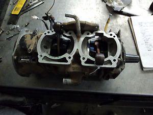 95 Skidoo Summit 670 Crankcase Crank Shaft Bottom End Engine Motor S223