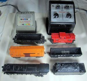 Lionel Train Set Electronic Engine 671 Tender 4 Cars Control Transformer