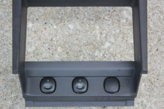 99 00 01 03 04 Ford Mustang Radio Surround Climate Dash Bezel Trim Vent