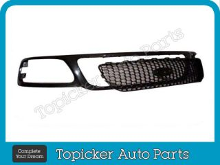 99 03 Ford F150 F250 Grille w Honey Comb Headlight 3pcs