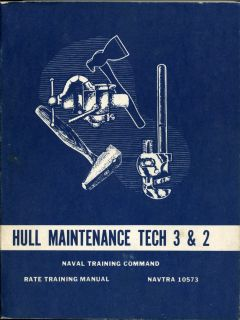 Hull Maintenance SHIP Repair Navy Manual Asbestos Naval