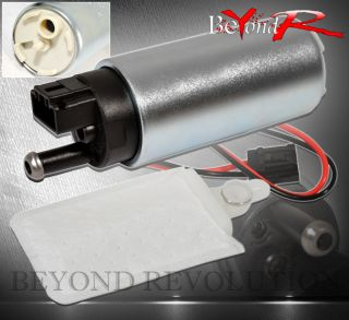 255 LPH Engine Electric High Pressure Gas Fuel Pump Injection Tank Mustang