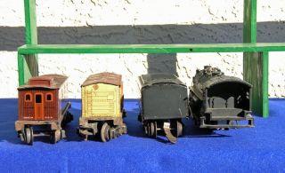 Lionel 1664 Prewar Engine Tender 2 Car Set