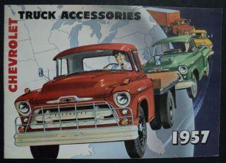 Chevrolet 1957 Truck Accessories Brochure