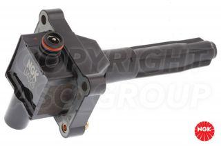 New NGK Ignition Coil Pack Mercedes CLK Class CLK230 C208 2 3 Kompressor 1997 00