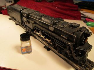 Lionel O Gauge 681 Pennsylvania Railroad Engine 2671W Whistle Tender Postwar
