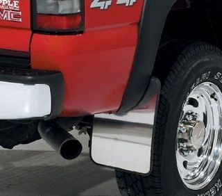 Chevy Silverado 1500 DZ1998 Mud Flaps Single RR Wheel No Fender Flares 1999 2013
