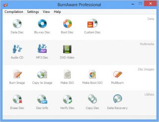 CD DVD Blu Ray Burner Burning Copy Full Software Suite Burnaware Pro