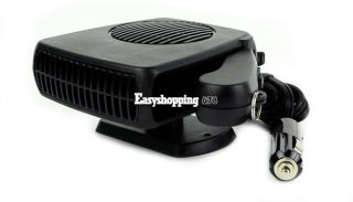 12V Vehicle Portable Ceramic Heating Cooling Heater Fan Defroster Demister ES9P