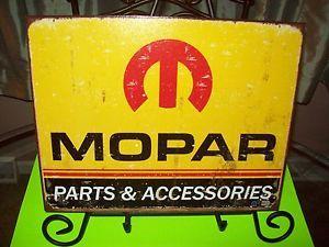 Tin Sign Mopar Dodge Emblem Logo Car Truck Garage Art Parts Accessories 1315