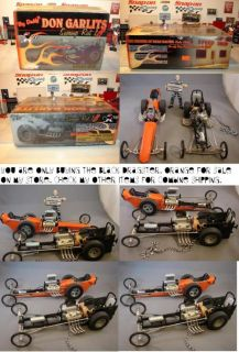 1 18 GMP Dragster Swamp Rat 1B Don Garlits Big Daddy 1B
