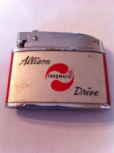 Flat Advertising Lighter Warco Allison Transmissions Service School Torqmatic