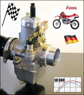 Carburetor 38 mm Enduro Moto Cross Trial Motorcycle w Jets Honda XR600 Dr KLR