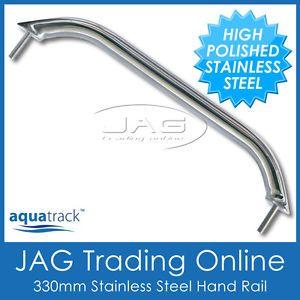 "1x Stainless Steel Marine Boat Hand Grab Rail 13"" 330mm"