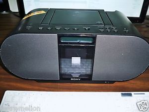 Sony ZS S4IP Boombox with CD Player Am FM Radio iPod iPhone Dock Boombox Only