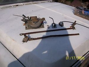 1958 Chevy Windshield Wiper Transmissions Motor Assembly 58 Chevrolet Bel Air