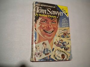 Tom Sawyer by Mark Twain 1950 Pocket Book Jr 2nd Printing $$HELPS Cats Dogs