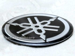 Yamaha 1 3 4 Hard Alumin Badge Emblem Decals Stickers