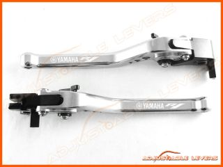 Adjustable Long Levers with Yamaha R1 Logo 2004 2008 Yamaha YZF R1 CNC