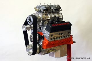 Small Block Chevy Engine 427CI 755 HP Blown Pro Street Complete Built to Order