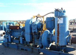 Sykes 12 inch Trash Water Irrigation Pump Diesel Engine Godwinn Thompson