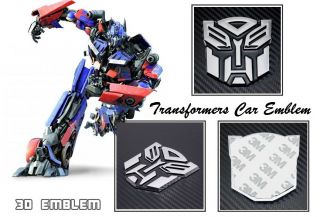 Transformers Autobots Car Emblem Badge Decal Logo Truck Motorcycle Bike Access