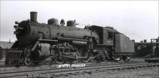 Wabash Railroad Engine 694 Steam Locomotive at Chicago Illinois in August 1948