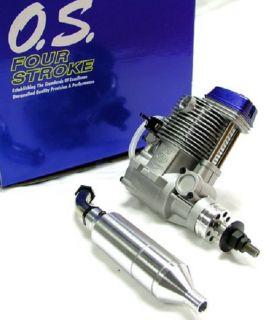 O s Engine FS 70 Ultimate 4 Stroke Airplane Engine with Muffler 34710