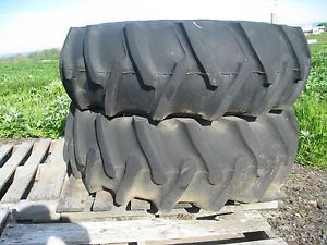 2 Farm Tractor Tires and Wheels Firestone 16 9x24