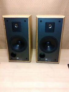 Pair of JBL Model 2600 Bookshelf Speakers Original Speakers Tested