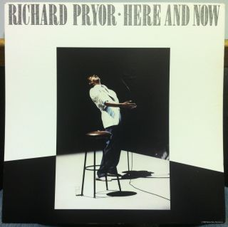 "Richard Pryor Here and Now 12 25"" Promo 23981 Poster 1983 Warner Brothers"