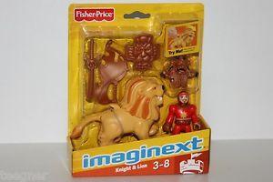 Fisher Price Imaginext The Eagle Talon Castle Knight Lion New