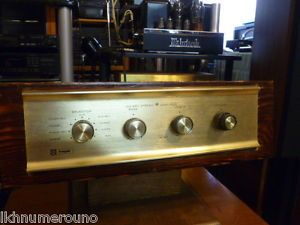 Vintage Knight KG 250 Stereo Tube Amplifier Works Great 6BM8 ECL82 Outputs