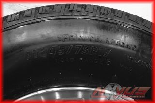 """17"""" GMC Sierra Chevy Silverado 2500 Wheels Firestone Tires 8 Lug 2011 16 18"""