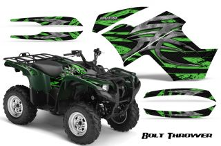 Yamaha Grizzly 700 550 Graphics Kit Decals Stickers BTG