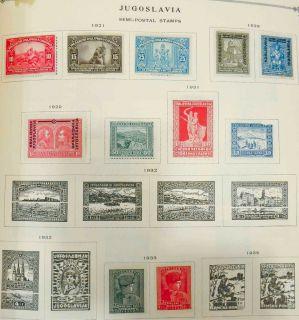 Nice Scott International Stamp Album 1 3000 4000 Stamps Many Unused RARE