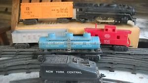 Vintage Marx O Scale Electric Train Set 9617 Metal Steam Engine 666 Locomotive