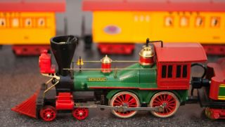 """Tyco Mantua """"General"""" Train 1960's Engine Tender Cars HO 3960 3240 w A R R"""