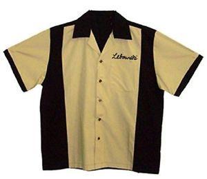 Big Lebowski Urban Achievers Bowling Shirt Adult Men's T Shirt Tee s 2XL