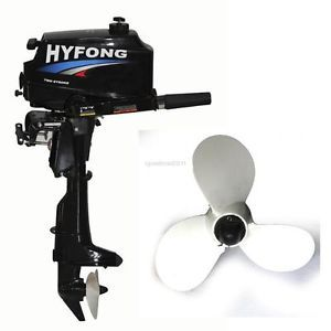 New Heavy Duty 3 5HP Outboard Motor Boat Engine with 2 Stroke Water Cooled