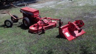 Gravely Professional 5665 Tractor Mower Tiller 12